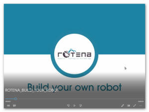 ROTENA - Build you own robot - video